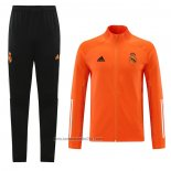 Chandal de Chaqueta del Real Madrid 2020-2021 Naranja