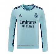 Camiseta Real Madrid Portero Primera Manga Larga 2020-2021
